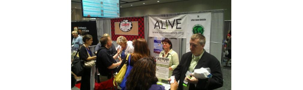 Would you like to have AL!VE have a booth or present at your conference?  Contact us!